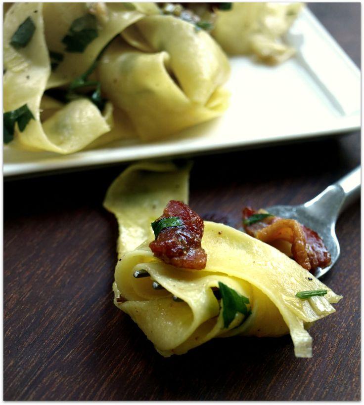 Pasta Carbonara with Leeks & Lemon | Dinner Ideas | Pinterest