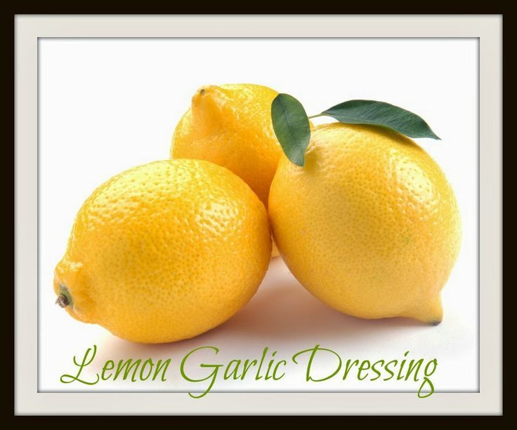 Creamy Lemon Garlic Dressing | Clean Eating Recipes for the entire fa ...