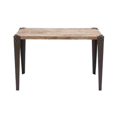 Woodland Imports Console Table Woodland Imports Metal Wood Console Table $162