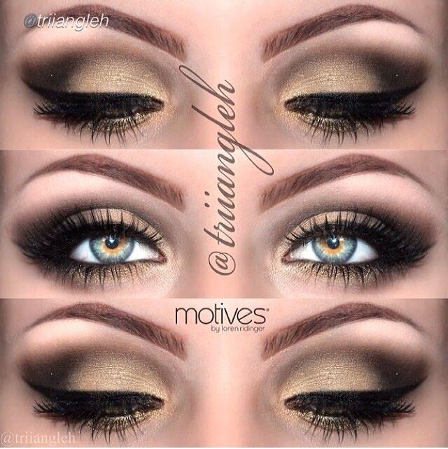 Bridal Eye Makeup For Hazel Eyes : hazel eye makeup Wedding Pinterest