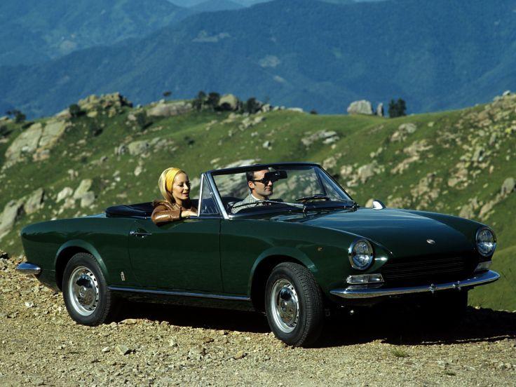 1966 fiat 124 spider convertible dream car garage pinterest. Black Bedroom Furniture Sets. Home Design Ideas