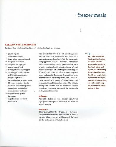... Easy (118) Pasta - Lasagna Style Baked Ziti Click to read the recipe