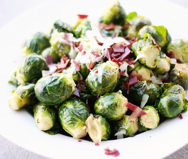 Sauteed Brussels Sprouts | Favorite Foods (Sides) | Pinterest