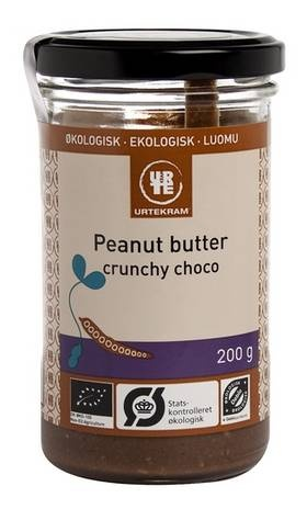 Peanut butter crunchy choco øko 200 g | Chocolate and liquorice | Pin ...