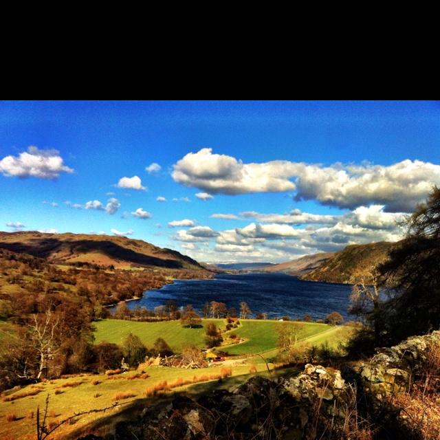 Seldom seen...Ullswater Lake!!