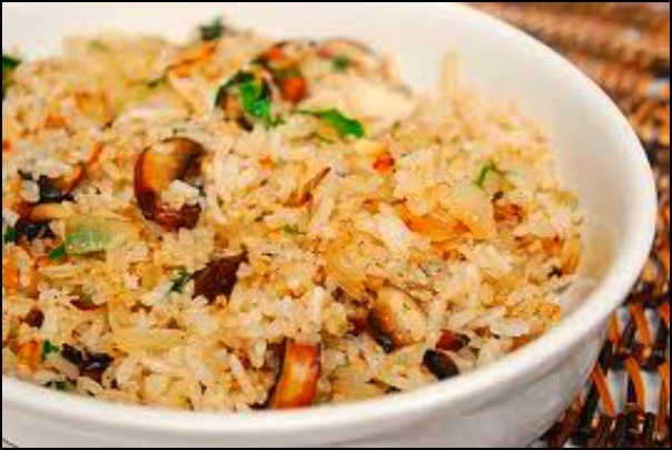rice pilaf with nuts and fruit | Food and Drink | Pinterest