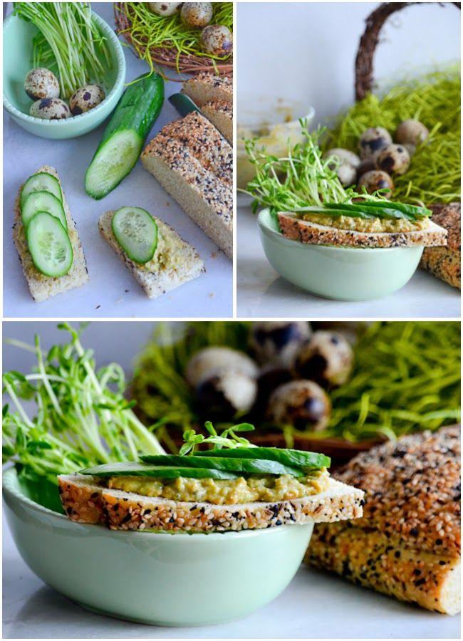 Let's Heat It!: Nifty Herbed Lentil Avocado Spread