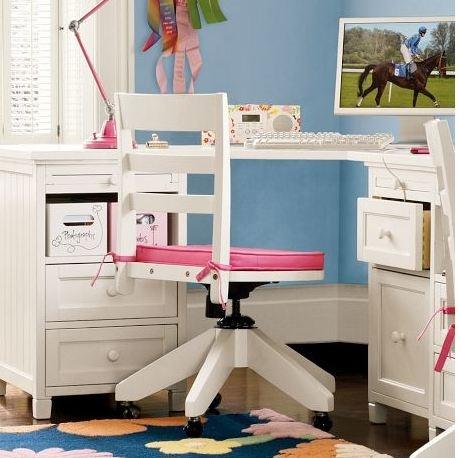 PB Teen Corner Desk Idea Mom 39 S For The Home Pinterest