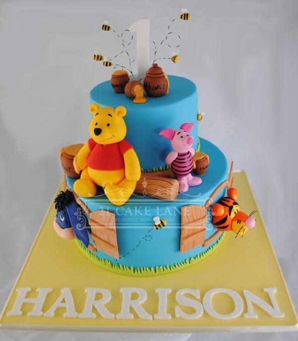 Cake Design Winnie The Pooh : Pinterest
