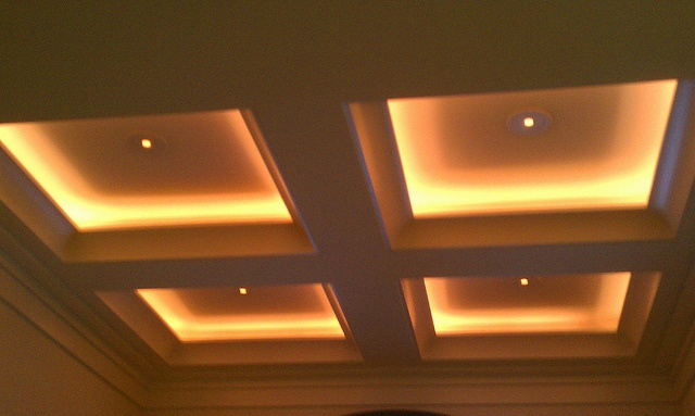 Tray Ceiling With Recessed Lighting