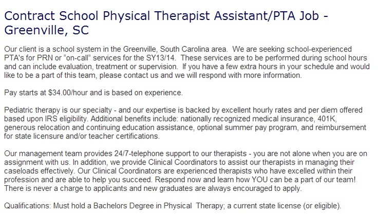 Physical Therapist Assistant our university essay