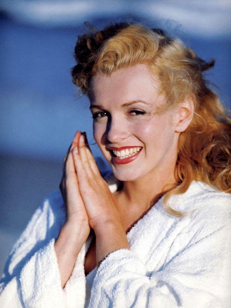 Marilyn Monroe Natural Hair Color