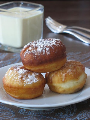 sufganiyot - jelly donuts | Try: Cookies, Squares & Donuts | Pinterest