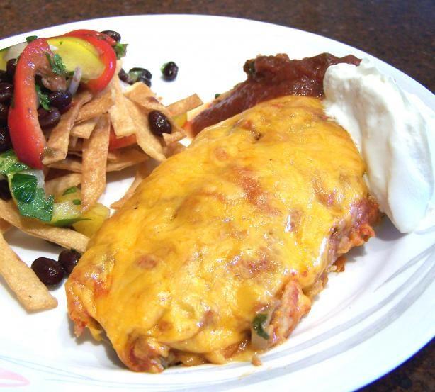 Spinach And Mushroom Enchiladas Recipes — Dishmaps