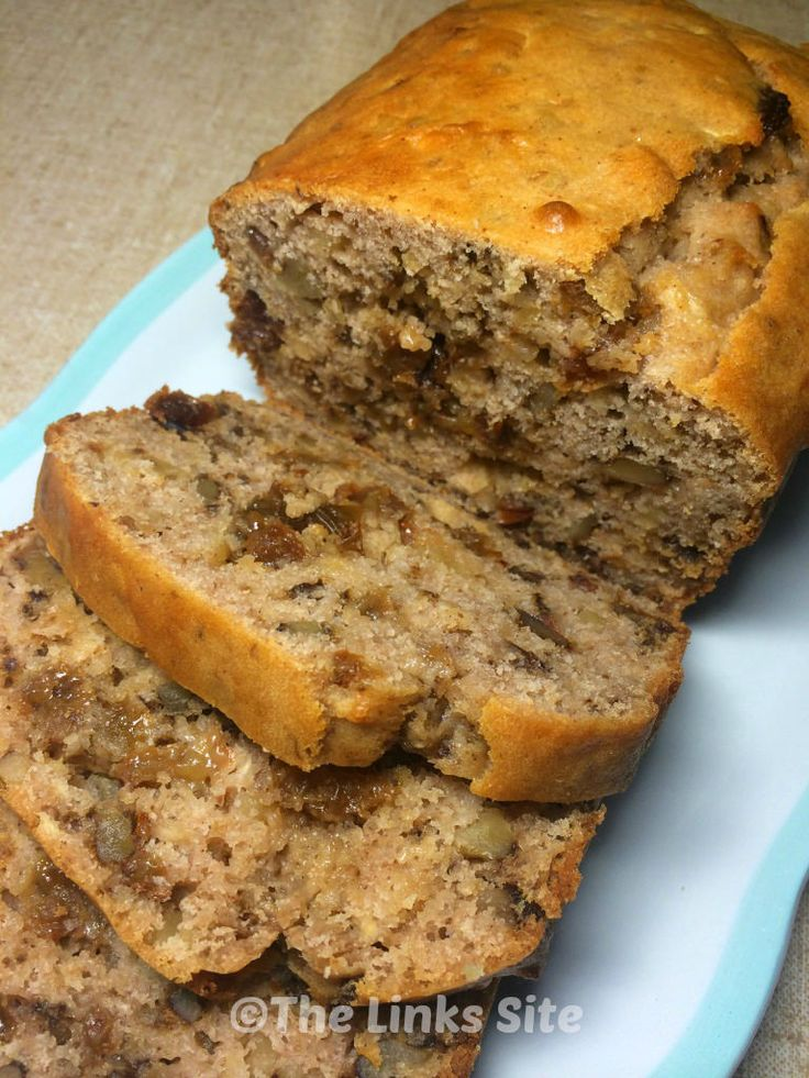 Walnut Raisin Loaf - thelinksite.com | Breads | Pinterest