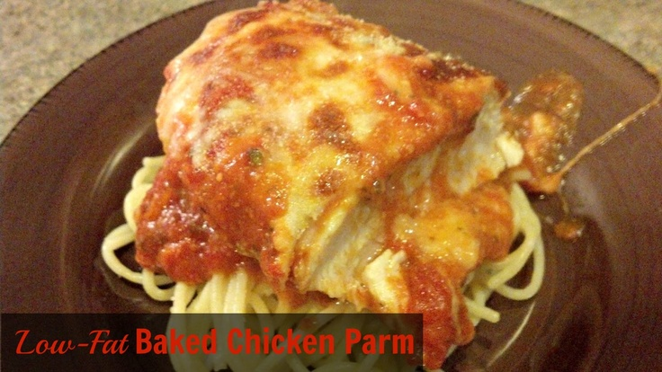 Low-Fat, Easy Baked Chicken Parm | the HEALTHY choice | Pinterest