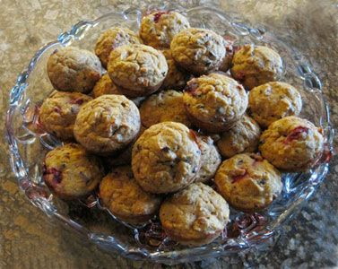 Raspberry-Cacao-Butternut Squash Gluten-Free Muffins made with ...