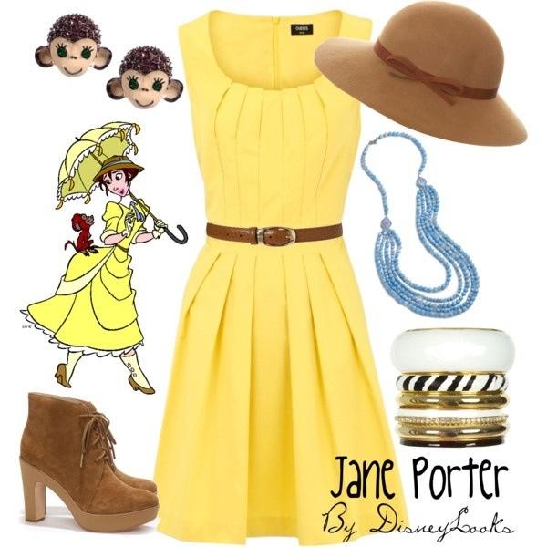 Disney Character Design Tarzan : Disney inspired jane porter pinterest