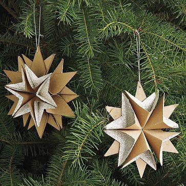 six point star ornament