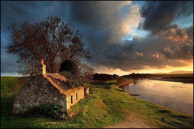 cottage en écosse
