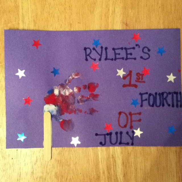 4th of july baby crafts