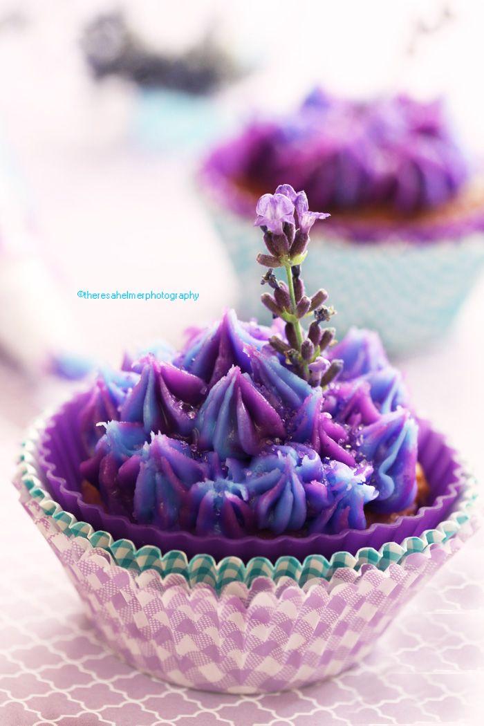 Lavender Honey Cupcake by theresahelmer.deviantart.com on @deviantART