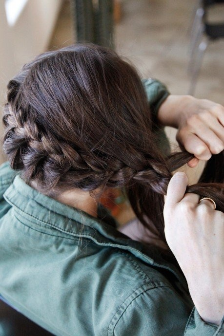 katy perry hairstyle : Pin Katniss Everdeen Braid Hairstyle on Pinterest