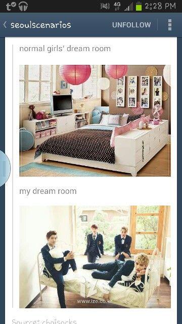Yup that's my dream room lol
