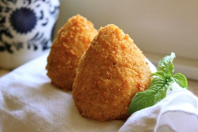 Christina's Cucina: Arancini di Riso: Sicilian Rice Balls