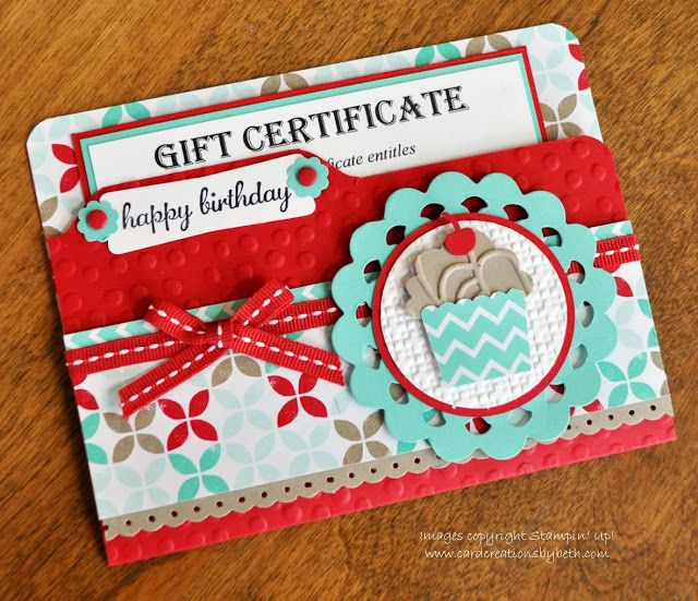 Card Creations by Beth: Fresh Prints File Folder Card