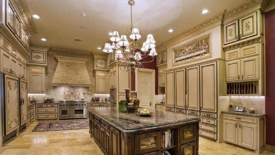 Large Luxury Kitchen Dream Kitchen Pinterest