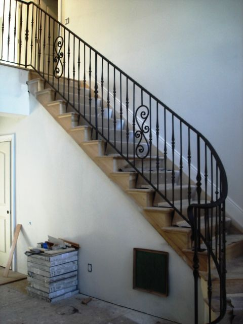 Best Interior Wrought Iron Staircase Railing Wrought Iron 400 x 300