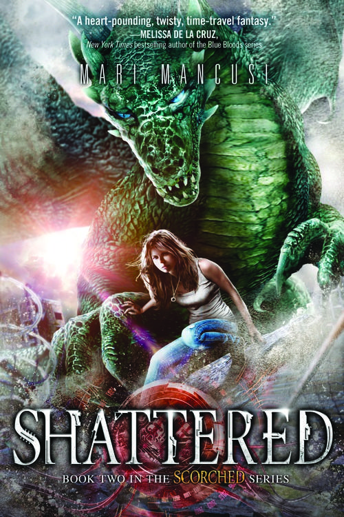 Shattered (Scorched #2) by Mari Mancusi