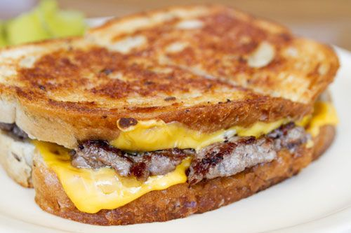 Patty Melt from Top Notch, Chicago, Photo Credit: Robyn Lee ...