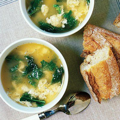 Stracciatella Soup | Recipes | Pinterest