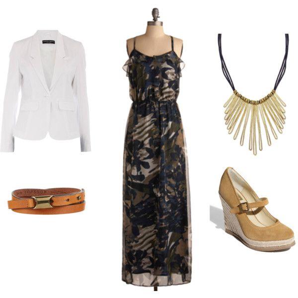 Professional maxi dress