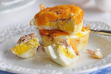 Ham, cheese and egg cups.Good Link w/Recipe, 01/11/13... CAH