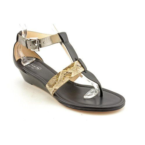 Cool Coach Velvet Open Toe Gladiator Sandals Shoes Womens