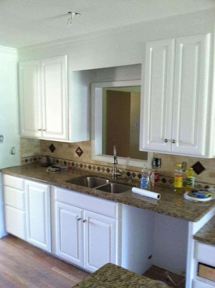 Kitchen Cabinet Paint Job Pretty Kitchens Pinterest