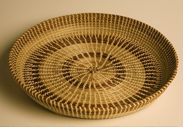 How To Weave A Sweetgrass Basket : Sweetgrass basket baskets