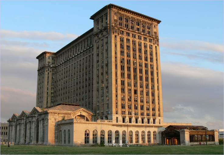 Mcdonald Ford Home Facebook >> Michigan Central Station, Abandoned   Abandoned   Pinterest