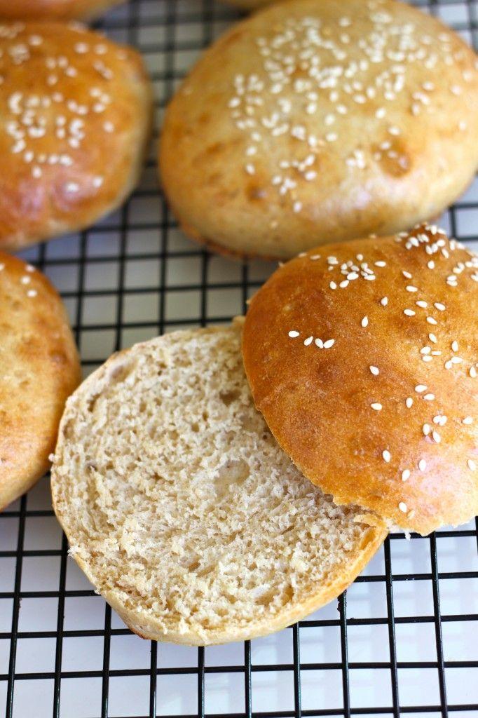 Homemade Hamburger Buns   Breads & Butters   Pinterest