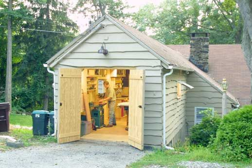 Simple Smart Shop In A OneCar Garage  Woodwork City Free