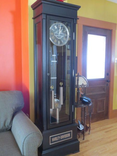 Harley Davidson Grandfather Clock For Sale