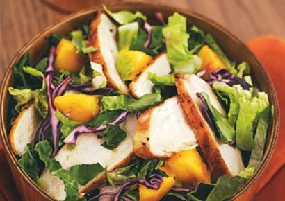 Chicken and mango salad | Health and Fittness | Pinterest