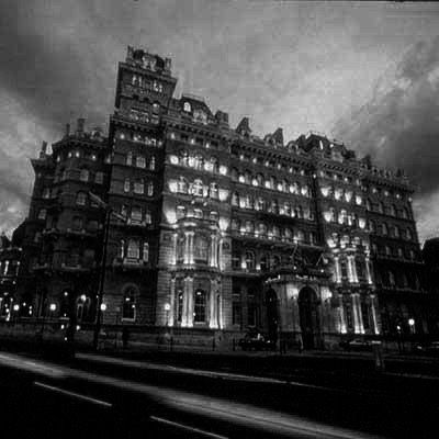 Spend a night in a haunted hotel