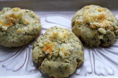 orange poppy seed cookies | cookies