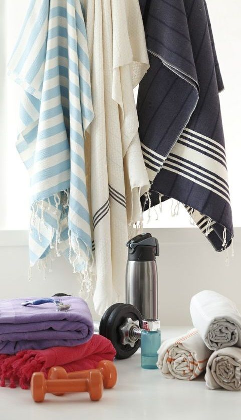 Wherever you go, take a lightweight & super quick-dry peshtemal towel ...