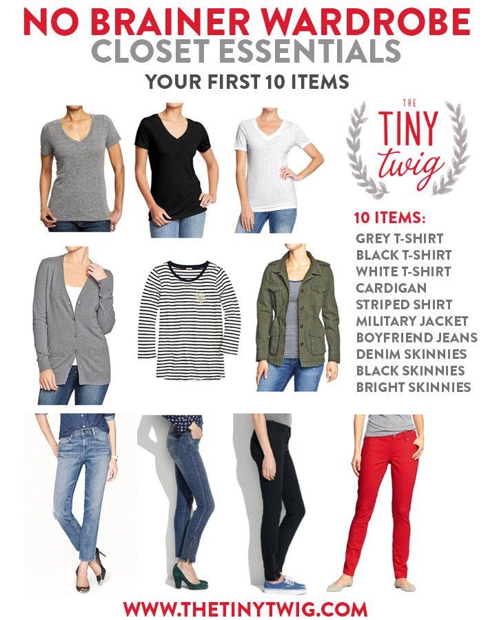Wardrobe: Essential Wardrobe Pieces