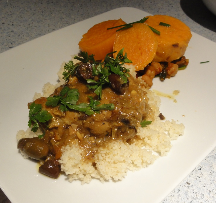 moroccan dinner idea: chicken tagine with preserved meyer lemons and ...